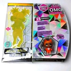 NEW & SEALED - LOL O.M.G. Missy Meow & Baby Cat